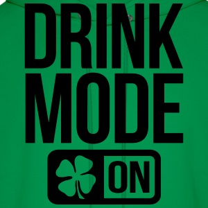 DRINK MODE ON IRISH  - Men's Hoodie