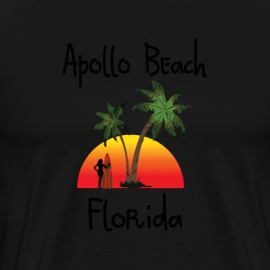 apollo beach T-Shirts - Men's Premium T-Shirt