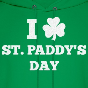 I LOVE ST. PADDY'S DAY - Men's Hoodie