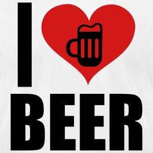 I Love Beer T-Shirts - Men's T-Shirt by American Apparel