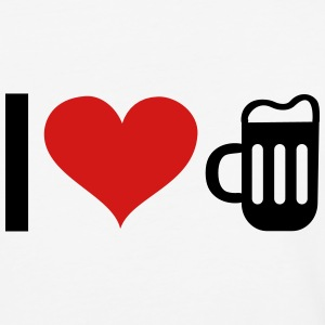I LOVE BEER T-Shirts - Baseball T-Shirt