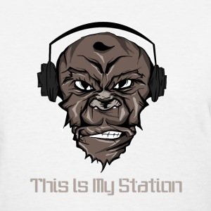 This is my station-cool DJ - Women's T-Shirt