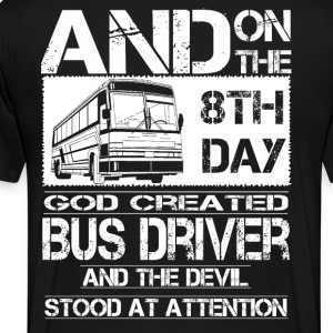 Bus Driver bus driver accessories funny bus driv - Men's Premium T-Shirt