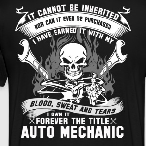 Shop funny mechanic t shirts online spreadshirt for Mechanic shirts with logo