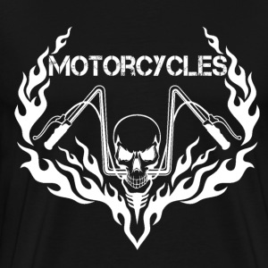 Motorcycle british motorcycle motorcycle outline - Men's Premium T-Shirt