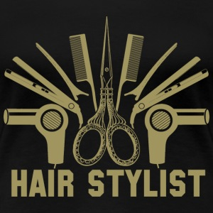 Hair Stylist hair stylist sayings design hair s - Women's Premium T-Shirt