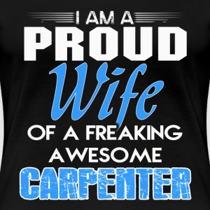 Carpenter funny carpenter carpenter joke constru - Women's Premium T-Shirt