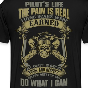 pilot helicopter pilot pilot aeroplane twenty on - Men's Premium T-Shirt
