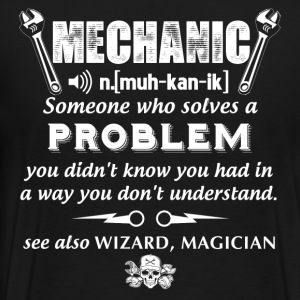 Mechanic mechanical engineering i love my mechan - Men's Premium T-Shirt