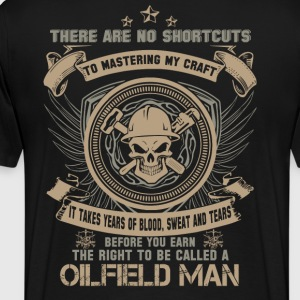 Oilfield Man - Men's Premium T-Shirt
