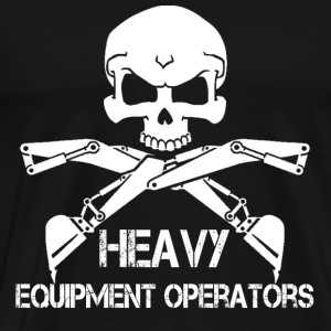 Heavy Equipment Operator sexy heavy equipment op - Men's Premium T-Shirt