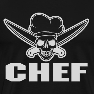 Chef chef muppets swedish chef (male) funny tedd - Men's Premium T-Shirt
