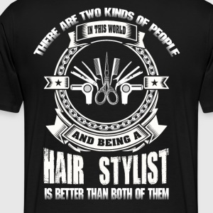Hair Stylist hair stylist sayings design hair st - Men's Premium T-Shirt