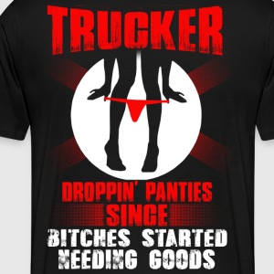 Trucker funny trucker drive by truckers trucker - Men's Premium T-Shirt