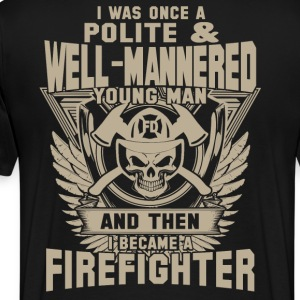 Firefighter firefighter girlfriend best firefigh - Men's Premium T-Shirt