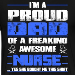 Nurse hot nurse labor  - Men's Premium T-Shirt