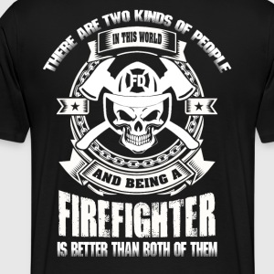 Firefighter funny firefighter best firefighter f - Men's Premium T-Shirt