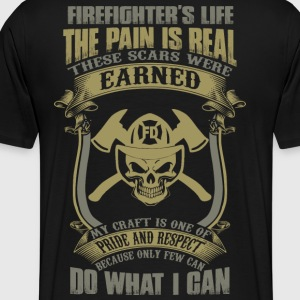 Firefighter hfd houston fire department paramedi - Men's Premium T-Shirt