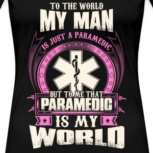 Paramedic firefighter paramedic hfd houston fir - Women's Premium T-Shirt