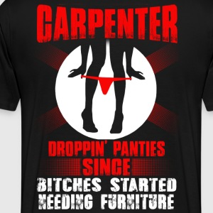 Carpenter carpenter carpenter plumber constructi - Men's Premium T-Shirt