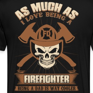 Firefighter hfd firefighter paramedic emt rescue - Men's Premium T-Shirt