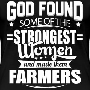 Farmer no farmers no food stupid farmers farmer - Women's Premium T-Shirt