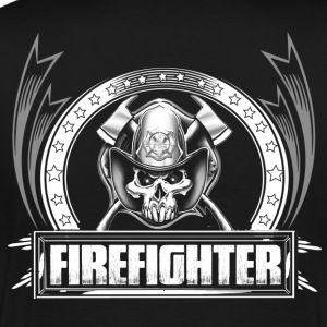 Firefighter firefighter humor wildland firefight - Men's Premium T-Shirt
