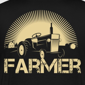 Farmer piglet farmer dirty farmer farmer farmers - Men's Premium T-Shirt