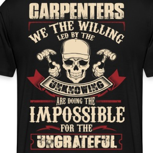 Carpenter carpenter plumber carpenter funny cons - Men's Premium T-Shirt