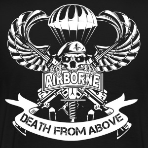 airborne 509th airborne 82nd airborne paratroope - Men's Premium T-Shirt