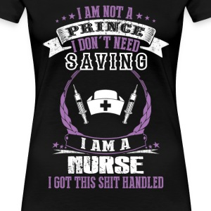 Nurse pediatric nurse labor and delivery nurse f - Women's Premium T-Shirt