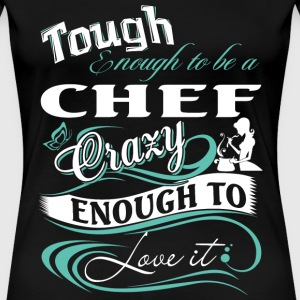 Chef chef funny chef (male) provocative little c - Women's Premium T-Shirt