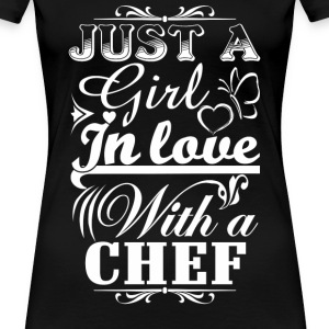 Chef chef funny dinner chef chef (male) funny te - Women's Premium T-Shirt