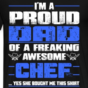 Chef pampered chef pastry chef design chef grill - Men's Premium T-Shirt