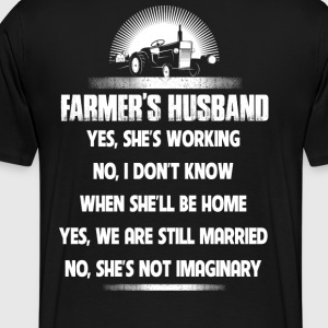 Farmer farmer's wife farmers no farmers no food - Men's Premium T-Shirt
