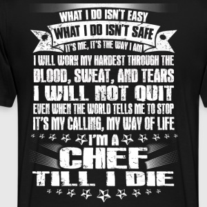 Chef pastry-chef pampered chef pastry chef Chef - Men's Premium T-Shirt