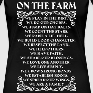 Farmer piglet farmer no farmers no food farmer' - Women's Premium T-Shirt