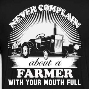 Farmer piglet farmer farmers union no farmers n - Men's Premium T-Shirt