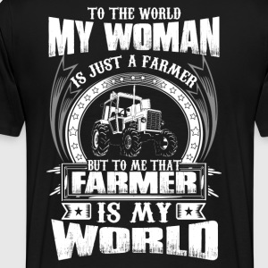 Farmer farmers union stupid farmers stupid farme - Men's Premium T-Shirt