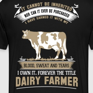 farmer farmer's wife farmers union piglet farme - Men's Premium T-Shirt