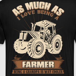 Farmer farmer farmer's wife piglet farmer stupid - Men's Premium T-Shirt