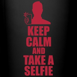 keep calm and take selfie Mugs & Drinkware - Full Color Mug