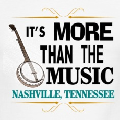 Nashville More Than Music Men's Ringer T-Shirt