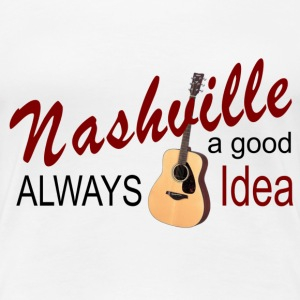 Nashville Good Idea Women's Premium T-Shirt - Women's Premium T-Shirt