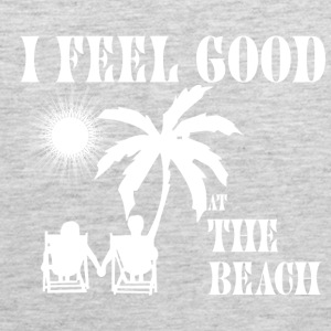 Feel good at the beach Tank Tops - Men's Premium Tank
