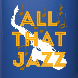 Music All that Jazz T-shirt Mugs & Drinkware - Full Color Mug