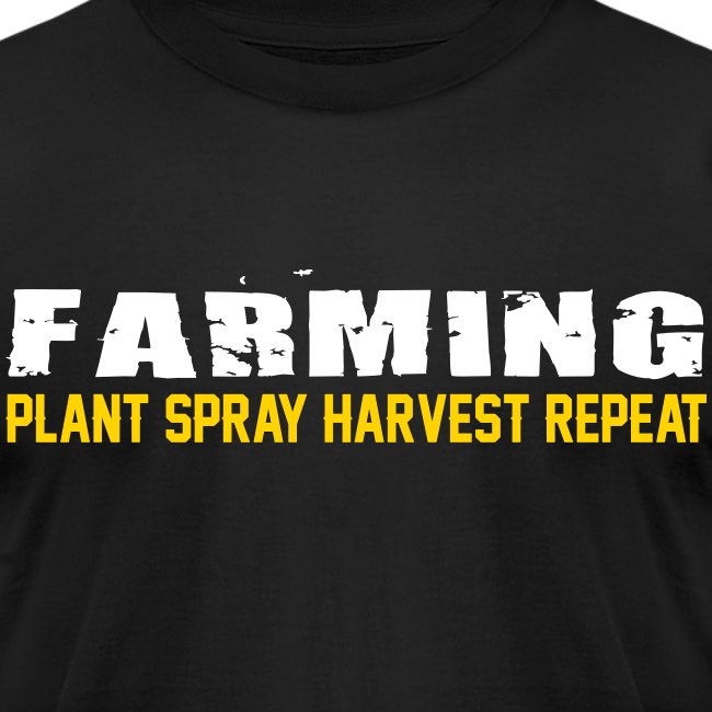 Farming - Plant Spray Harvest Repeat - Mens T-Shirt