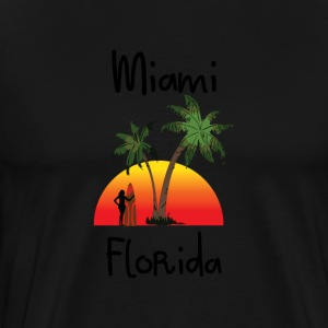Miami Florida T-Shirts - Men's Premium T-Shirt
