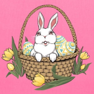Easter Bunny Bag Easter Basket Shopping Bags - Tote Bag