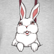 Design ~ Easter Bunny Hoodie Bunny Rabbit Hooded Sweatshirt